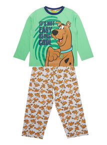 Kids Green Scooby Doo Pyjamas (3-12 years)