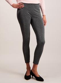 Grey Sparkle Leggings