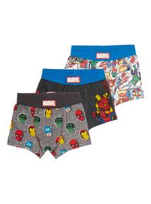 Multicoloured Marvel Disney Trunks 3 Pack