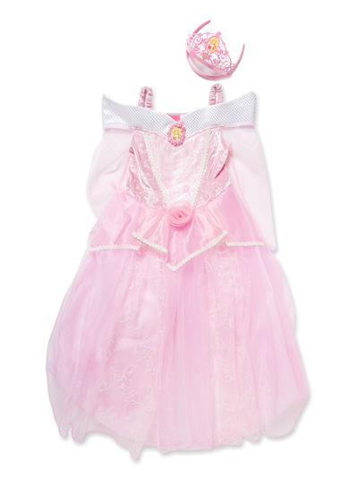 Fancy Dress Pink Disney Sleeping Beauty Costume (2-8 years) | Tu ...