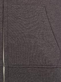 Unisex Grey Fleece Hoodie (10-16 years)