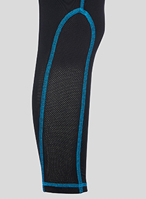 Black Active Sports Bottom (3-16 years)