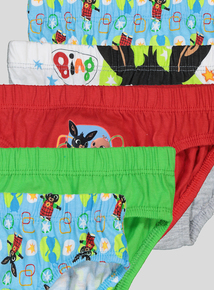 Bing Multicoloured Briefs 5 Pack (18 months- 6 years)