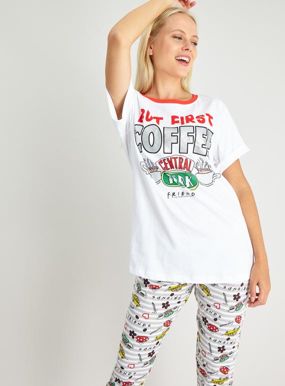 Official Women/'s Central Perk Friends Pyjamas
