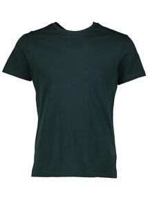 Dark Green Crew Neck T-Shirt
