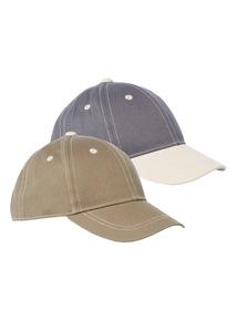 Baseball Caps 2 Pack (1 - 12 years)
