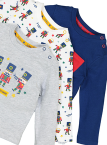 Multicoloured Toy Soldier Long Sleeve T-Shirts (0-24 months)