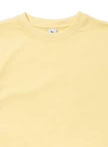 Yellow crew neck T-Shirt (3-12 years)