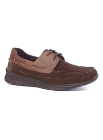 Sole Comfort Brown Boat Shoes