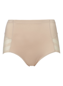Beige No VPL Sculpting Brief