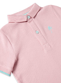Pink Polo Shirt (3-14 years)