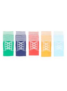 Baseball Socks 5 Pack (1 - 24 months)