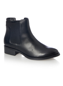 Leather Chelsea Ankle Boot