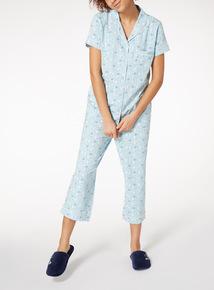 Seagull Print Pyjama Set