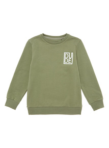 Green Dude Jumper (4 - 14 years)
