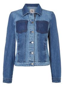 Patch Pocket Denim Jacket