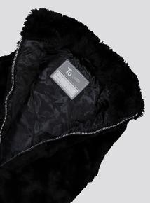Black Faux Fur Gilet (3 - 14 years)