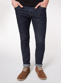 Online Exclusive Dark Denim Wash Skinny Jeans With Stretch