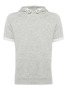 Grey Short Sleeve Hoody