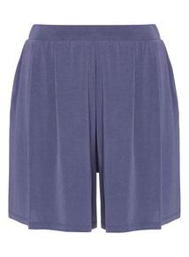 Cupro Short Culottes