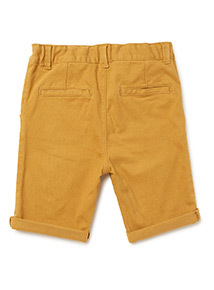Yellow Chino Shorts (3-14 years)
