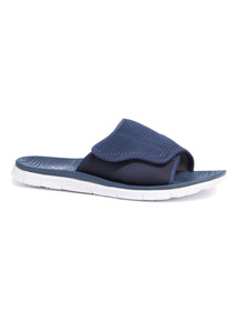 Navy Pool Sliders