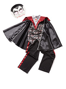 Red Halloween Vampire (3-12 years)