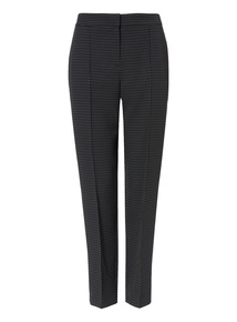 Multicoloured Pin Dot Tapered Trousers