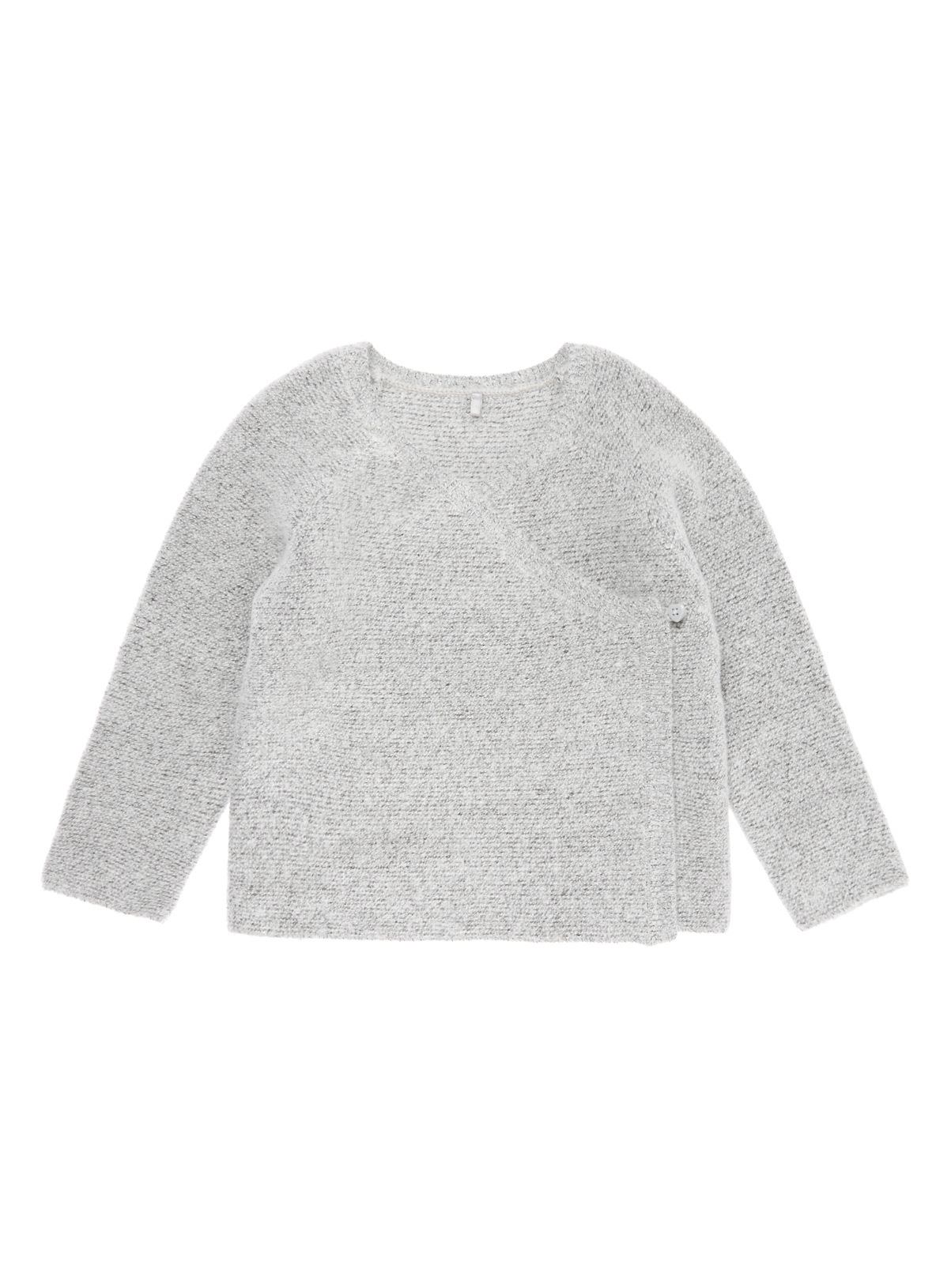Baby Grey Wrap Lined Cardigan (0-12 months) | Tu clothing