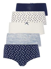 Blurred Spot Shorts 5 Pack