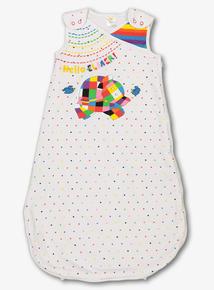 Online Exclusive Multicoloured Elmer Sleeping Bag (0-3 years)