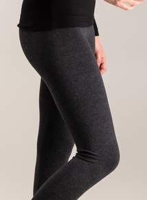 Grey Cotton Modal Leggings