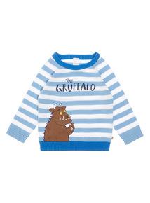 Blue Gruffalo Jumper (0-24 months)