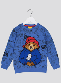 Paddington Bear Blue Jumper (9 Months - 6 Years)