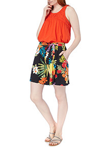 Tropical Short Culottes