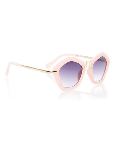 Pink Pentagon Sunnies