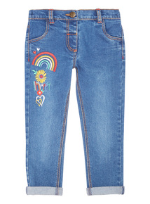 Denim Embroidered Jeans (9 months - 6 years)