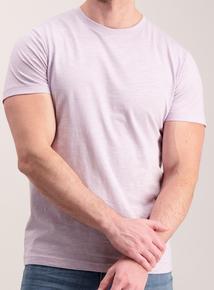 Lilac Cotton T-Shirt