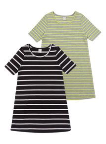 Two Pack Rib Dress (3 - 14 years)