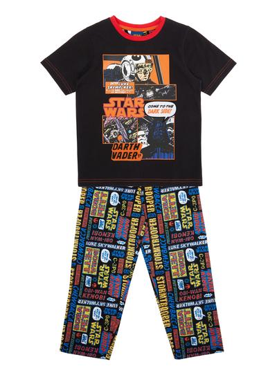 All Boy's Clothing Boys Black Star Wars Pyjamas (3-12 years) | Tu ...