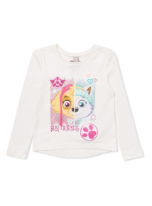 Multicoloured Paw Patrol Top With Sound Chip (9 months-6 years)