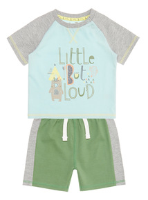 Multicoloured Jersey Set (0 - 24 months)
