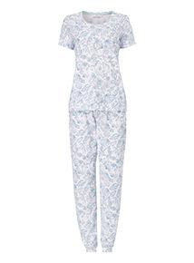 Shell Print Pyjama Set