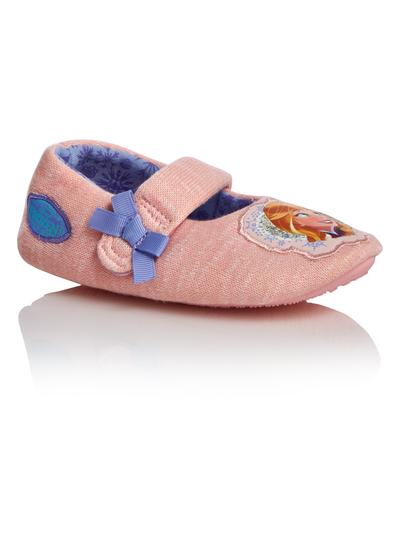 26c54bc2c287 Kids Girls Pink Disney Frozen Slippers | Tu clothing