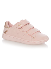 Girls Pink Cupsole Shoes