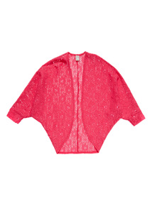 Pink Lace Cardigan (3 - 14 years)