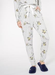 Supersoft Floral Harem Trouser