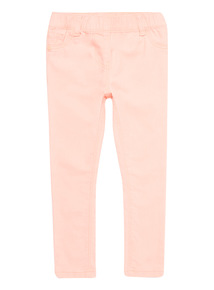 Girls Pink Denim Jeggings (3 - 14 years)