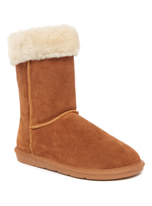 Suede Borg Boot
