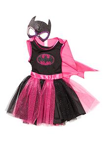Girls Multicoloured Batgirl Costume (2-12 years)
